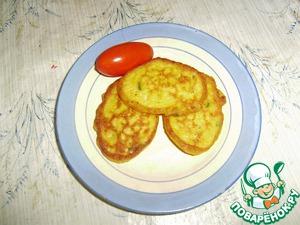 Рецепт Оладушки тыквенно-картофельные