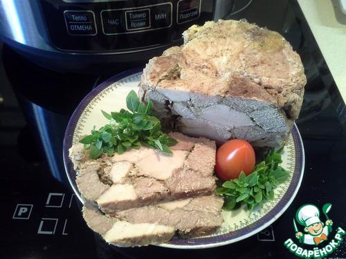 ветчина из курицы в ветчиннице в домашних условиях рецепт с фото