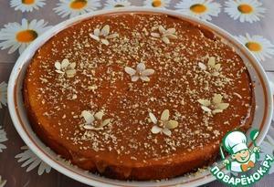 Рецепт Йогуртовый пирог с ирисками