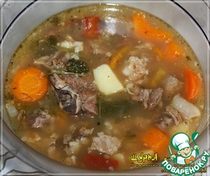Как приготовить Шурпа... по деревенски, без затей вкусный рецепт приготовления с фотографиями