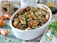 Запеченное мясо в луково-соевом маринаде ингредиенты