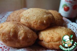Рецепт Творожные пончики с лимонной цедрой и конфитюром