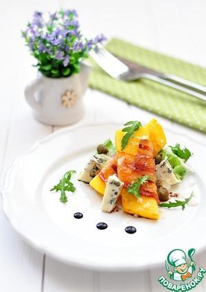 Салат из манго, бекона и голубого сыра /></a> </div> <div class=