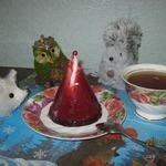 """Творожный десерт """"Клубничная нежность"""""""