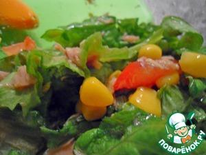 Рецепт Летний салат с тунцом
