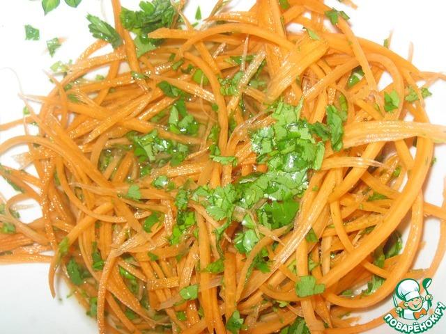 Рис с корейской морковкой