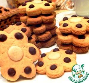 Печенье кукурузное с шоколадом рецепт с фотографиями