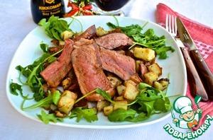 Рецепт Антрекот с розмариновой картошкой