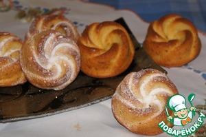 Рецепт Апельсиновые кексы с цукатами