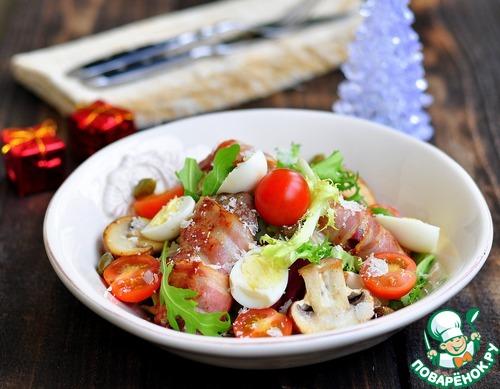 печеночный салат рецепт из куриной печени фото
