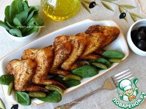 Рецепт Куриные крылышки-гриль по-испански