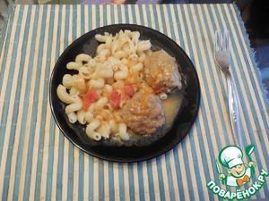 Мясные биточки с подливкой вкусный пошаговый рецепт приготовления с фотографиями