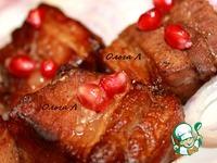 Свиные рёбрышки в гранатовом соусе ингредиенты
