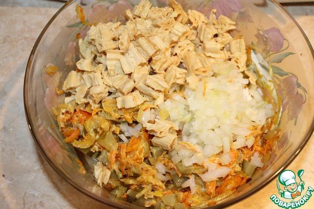 как готовить салат из спаржи с фото