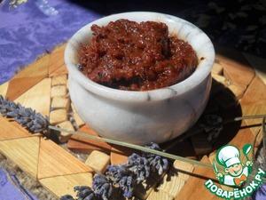Как приготовить рецепт приготовления с фотографиями Паштет из вяленых томатов