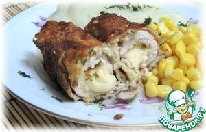 Рецепт Куриная грудка в сладких сухарях