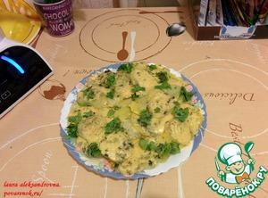 Рецепт Картофель в пароварке с луком и сыром