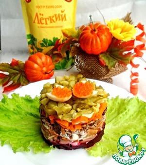 Рецепт Винегрет a La Coutouzow