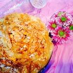 """Яблочный пирог-десерт """"Цветочный"""""""
