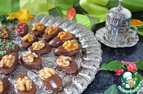 Банановые конфеты в шоколаде