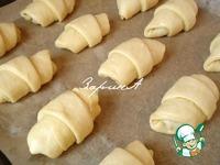 Слоеные булочки с джемом и вареной сгущенкой ингредиенты