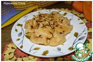 Рецепт Клецки в карамели