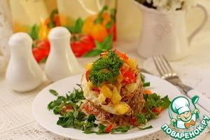 Рецепт Филе красного окуня с овощами