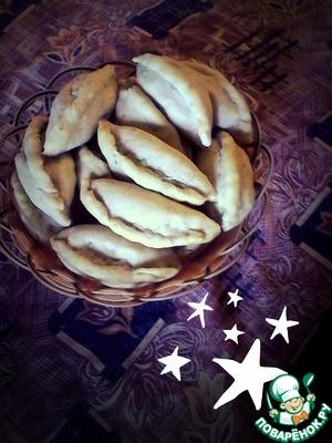 Рецепт Пирожки с картошкой (постные)