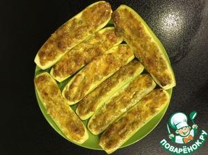 Рецепт Кабачки запеченные в духовке