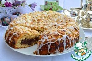 Рецепт Датский пасхальный шоколадный пирог