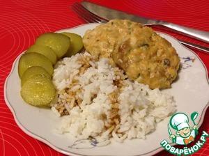 Рецепт Рубленые рыбные котлеты из горбуши на пару