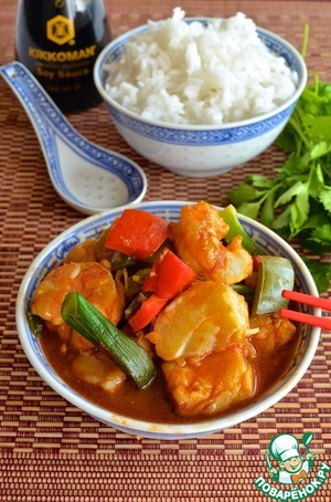 Рецепт Рыба в кисло-сладком соусе