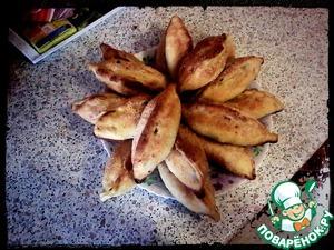 Рецепт Рыбные расстегаи с сельдью