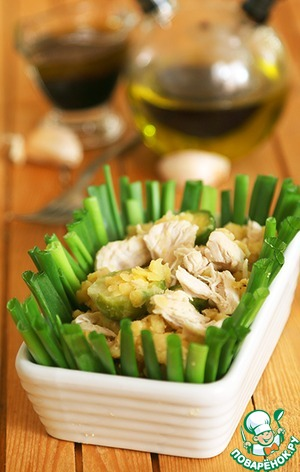 рецепты теплый салат с чечевицей и