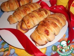 Рецепт Черничные булочки