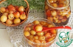 Рецепт Янтарный конфитюр из черешни