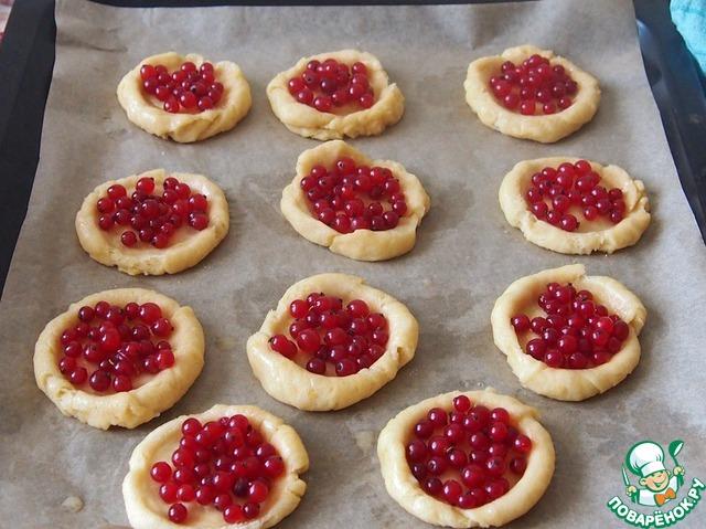 ватрушка ягодами рецепт фото