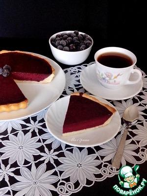 Рецепт Пирог с муссом из черной смородины