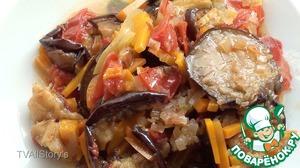 Рецепт Соте из баклажанов (синеньких)