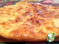 Хачапури с адыгейским сыром ингредиенты