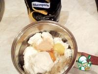 Творожная ватрушка с малиновыми розами ингредиенты