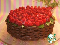Маковый торт с муссом из малины ингредиенты