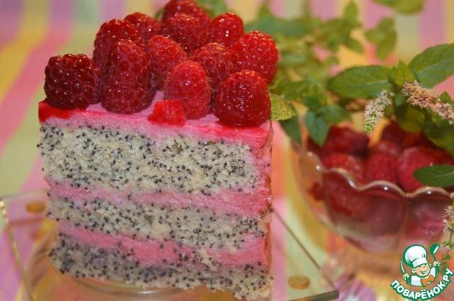 Готовим маковый тортик фото рецепт