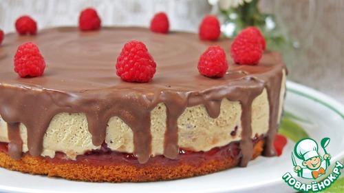 """Торт """"Малиновый вечер"""""""