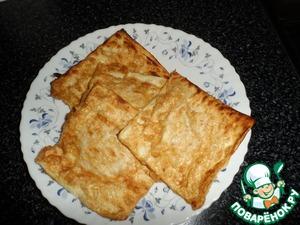 Рецепт Конвертики из лаваша с помидорами и сыром