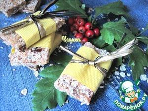 Рецепт Мюсли-батончики с арахисовой пастой