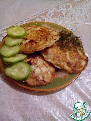Рецепт Куриная грудка в кляре