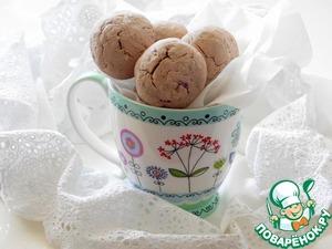 Рецепт Ежевично-кунжутное печенье