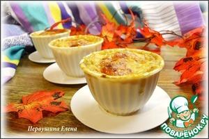 Как приготовить Мини-жульены овсяные с картофелем и печенкой простой пошаговый рецепт с фотографиями