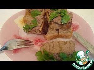 Рецепт Паштет из куриной печени с коньяком